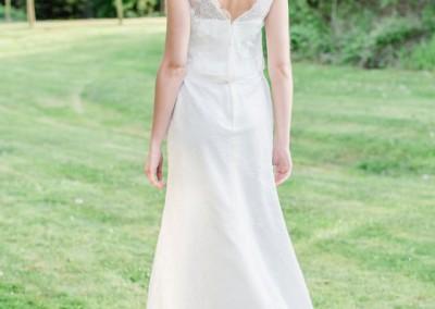Bohemian - Hochzeit - Kleid