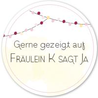 Logo - Fräulein K sagt ja