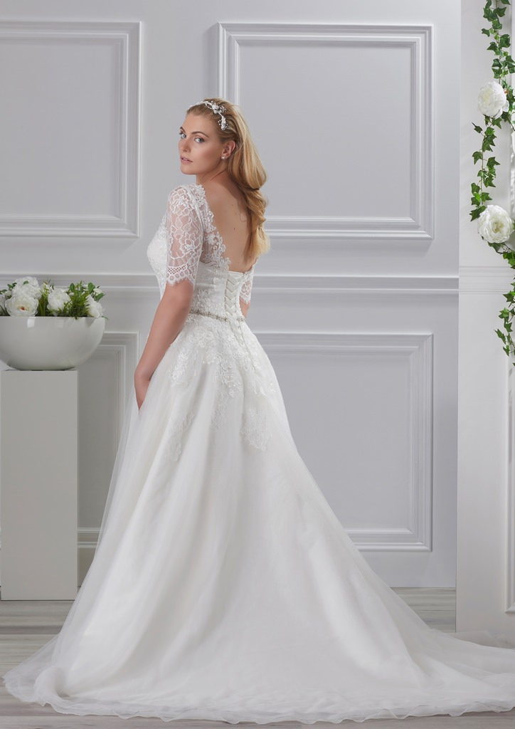 Gemütlich Brautkleid Ideen Für Plus Size Galerie - Brautkleider ...