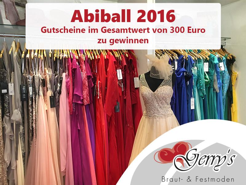 Abiball 2016 – Gewinne einen von 3 Gutscheinen für Dein perfektes Abiball-Kleid!