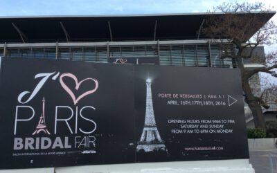 Paris Bridal Fair 2016 – traumhafte Kleider direkt aus Paris!