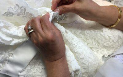Unser hauseigenes Änderungsatelier für Ihr perfektes Kleid
