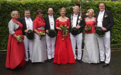 Schützenfest in Steinforth-Rubbelrath – unsere Kleider für die Schützenkönigin und ihre Ministerinnen