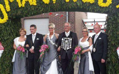 Schützenfest 2016 in Mönchengladbach-Hehn – Die Damen des Königshauses in unseren Kleidern