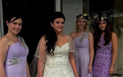 Von Gerrys Fest- und Brautmoden direkt zum Traualtar