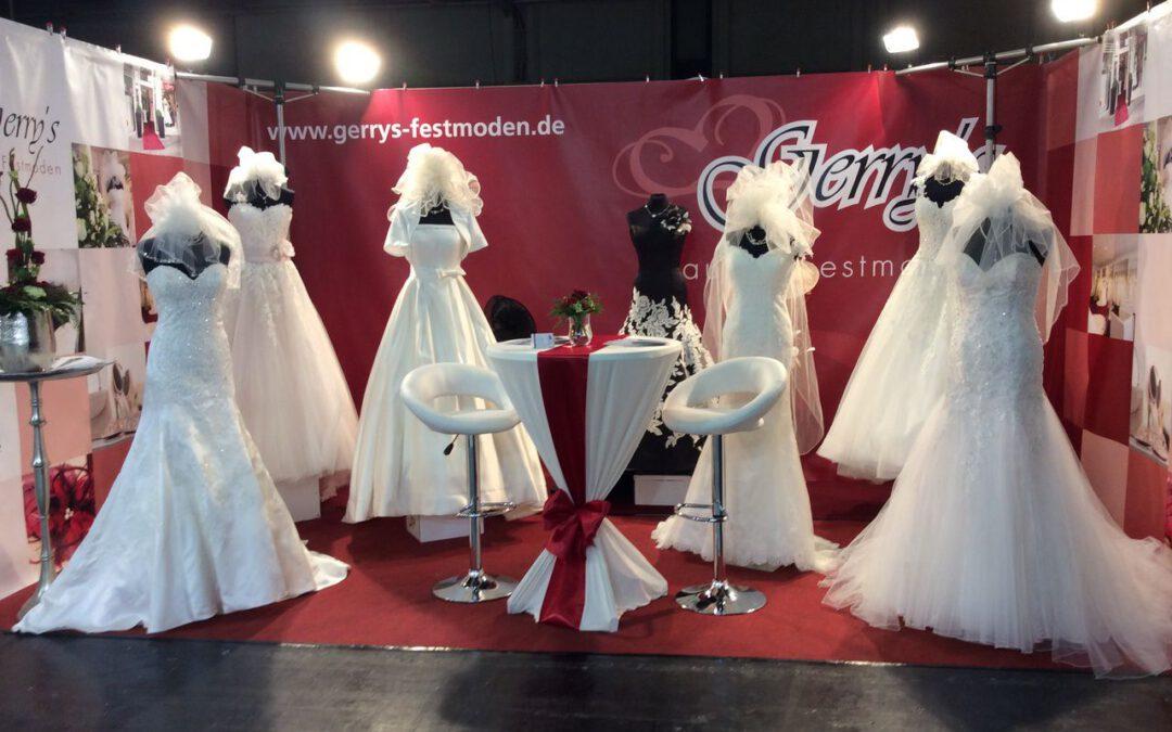 Unser Stand ist fertig – Wir freuen uns auf die Hochzeitsmesse Trau Dich! 2016
