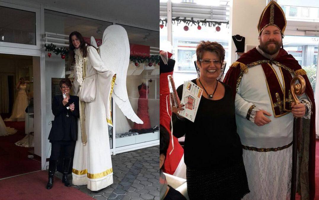 Schützenkönigin, Nikolaus und ein Engel – Hoher Besuch in der Weihnachtszeit!