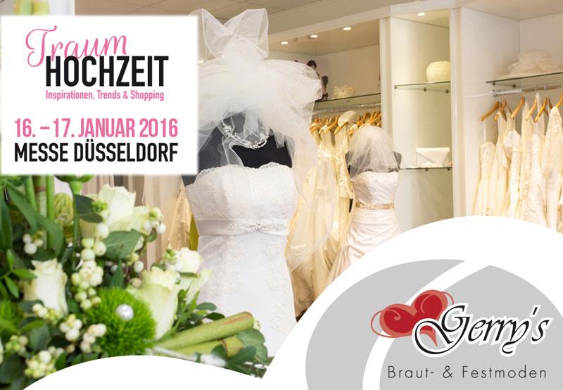 Messe TraumHOCHZEIT – 16./17. Januar 2016 – Messe Düsseldorf – 100 Euro Gutschein