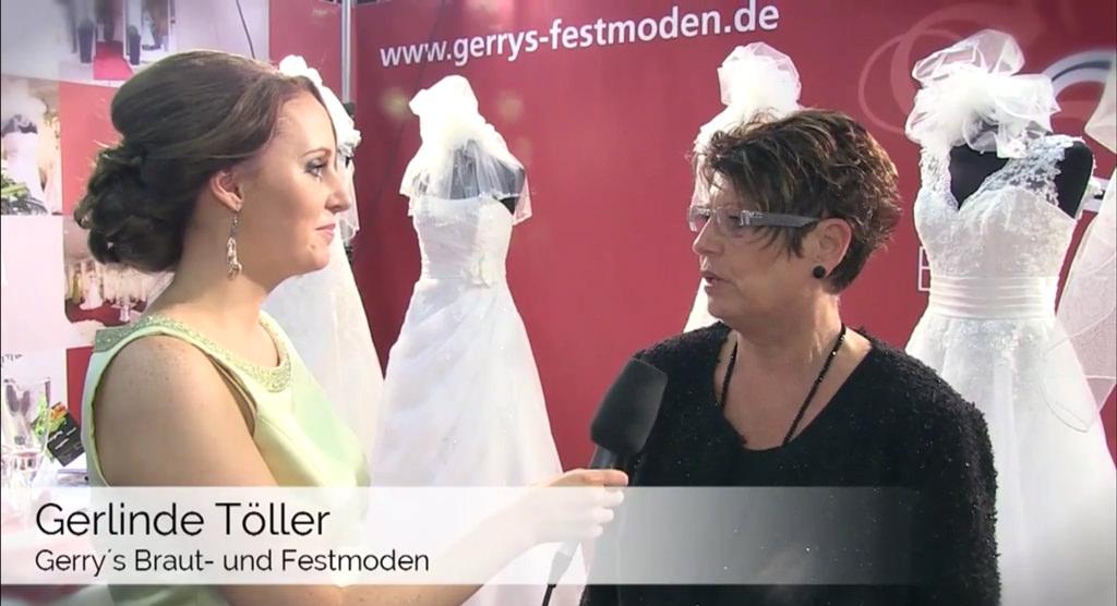 Das perfekte Hochzeitskleid – Gerry´s Brautmoden im Video-Interview