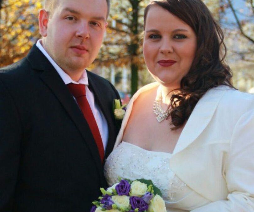 Ein wundervolles Brautkleid von Gerrys Brautmoden