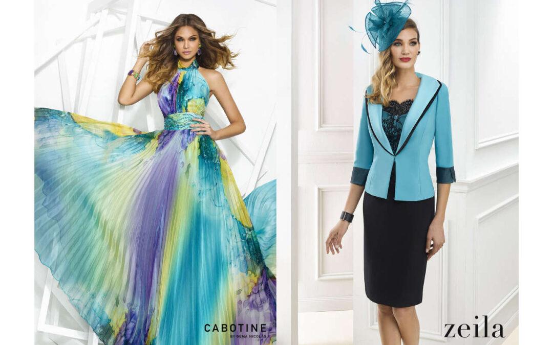 Zeila und Cabotine – Kollektionen 2017 – Abendkleider und Kleider für Braut- und Bräutigammutter