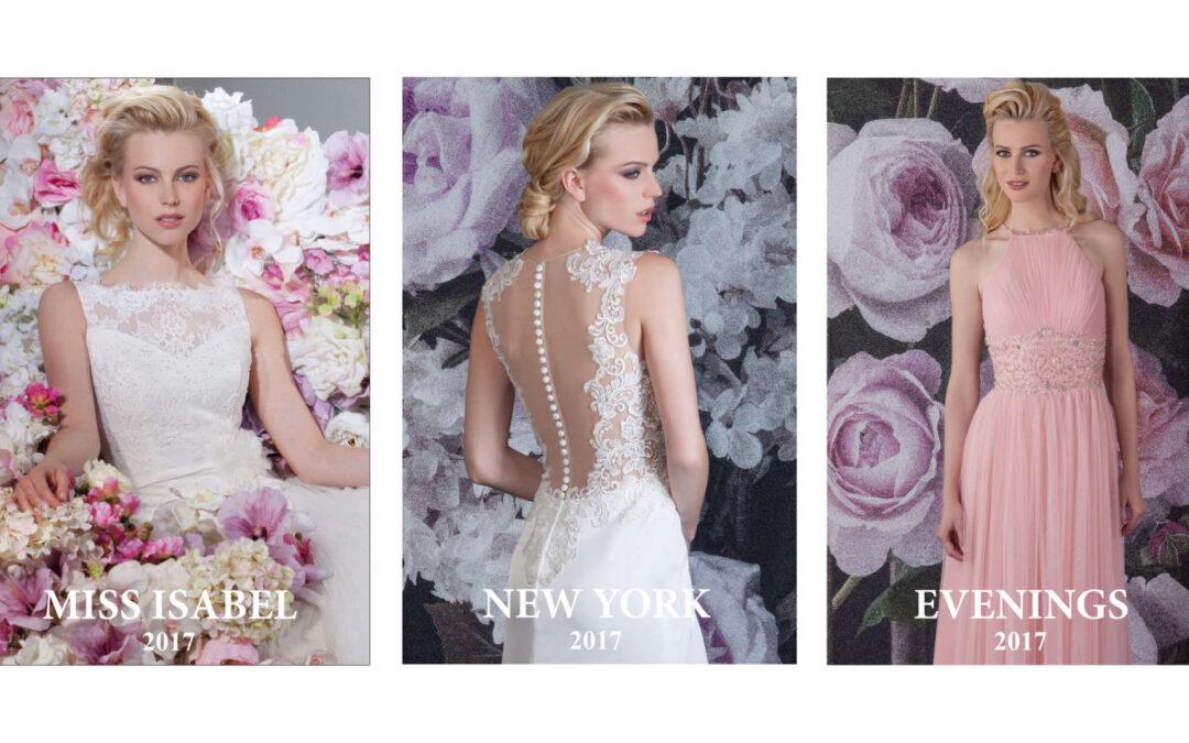 Einblicke in die Kollektionen 2017 von Isabel de Mestre – Brautkleider und Abendkleider