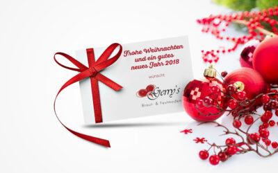Frohe Weihnachten – Öffnungszeiten in der Weihnachtszeit