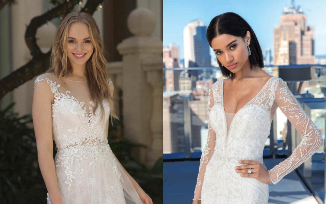 Brautmodentrends 2019 – Eindrücke der ersten Frühjahr- / Sommerkollektionen