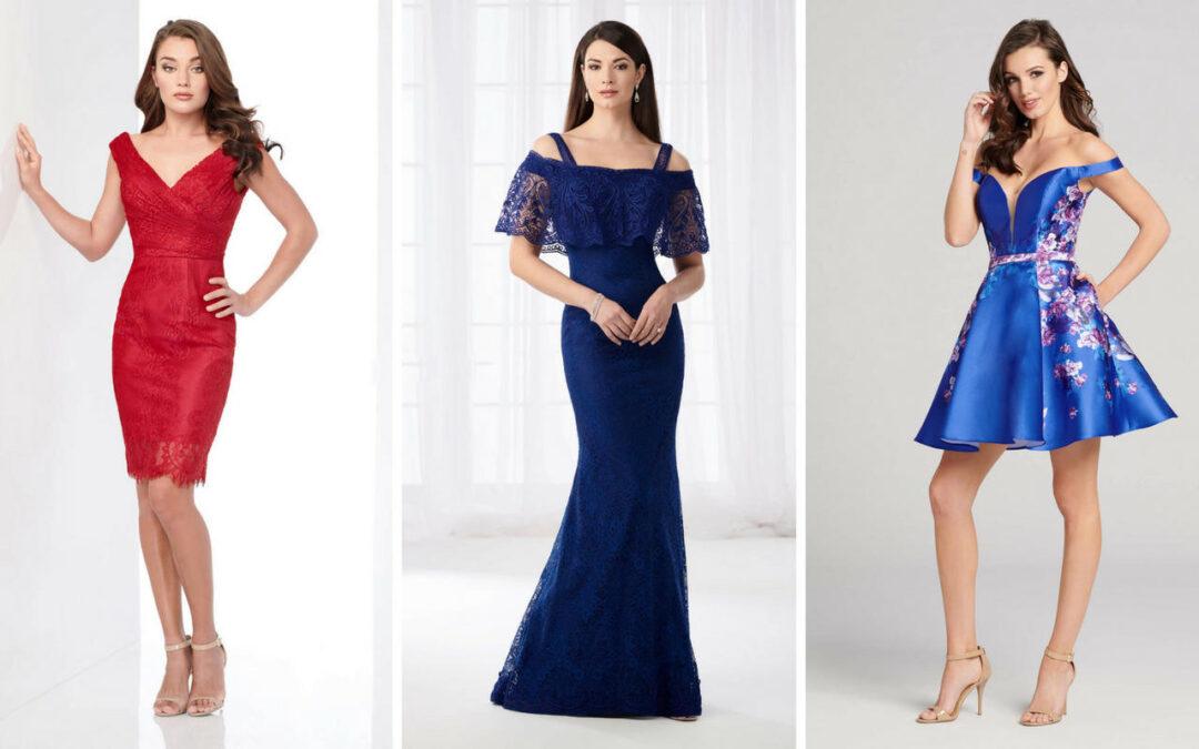Mon Cheri – Herbstkollektionen 2018 – Cocktailkleider, Abendkleider, Etuikleider und mehr