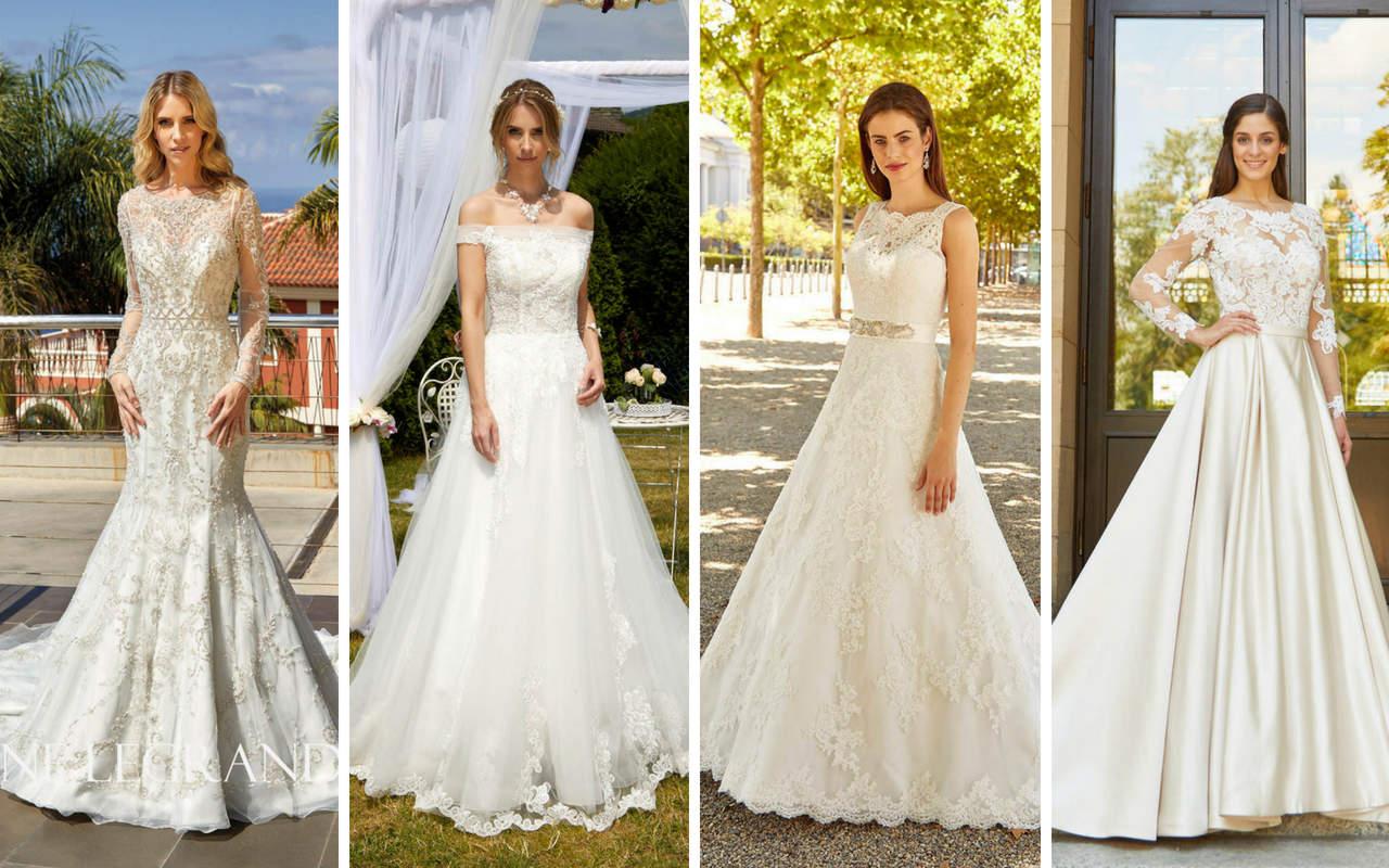 Neue Brautkleider Brautmoden Kollektionen 2019 Trends Gerrys