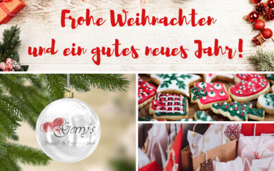 Frohe Weihnachten und einen guten Rutsch – Unsere Öffnungszeiten während der Feiertage
