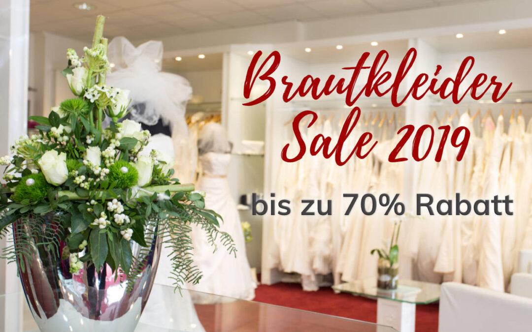 Wir schaffen Platz – Ab sofort großer Brautkleider Sale mit bis zu 70% Rabatt