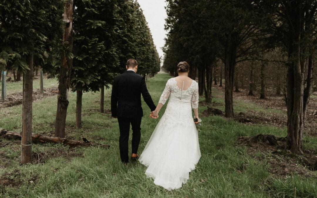 Hochzeit im Wonnemonat Mai in einem Traum aus Spitze
