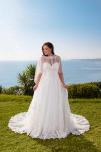 Brautkleid - Miss Emily von Tres Chic - große Größen und Plus Size