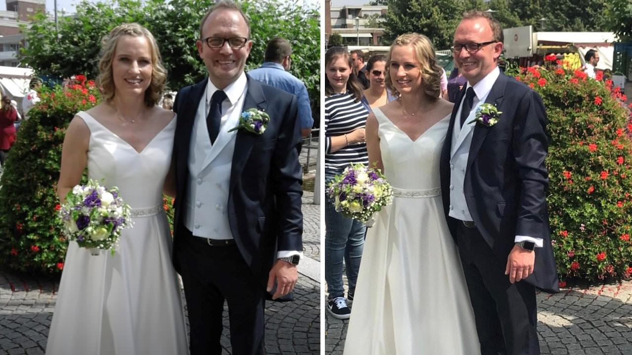 Gerrys Braumoden in Neuss - Kundengeschichten - Heiraten in Corona-Zeiten