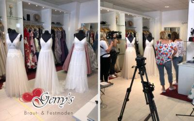 Die schönste Braut – VOX dreht bei Gerrys Braut- und Festmoden